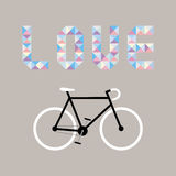I love bicycle7 Royalty Free Stock Photos