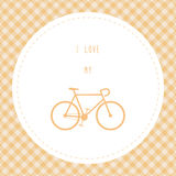 I love bicycle10 Royalty Free Stock Photos
