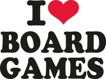 I love board games. Vector vector illustration