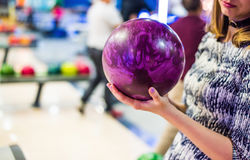 I Love Bowling Royalty Free Stock Image