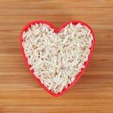 I love brown rice Stock Photo