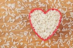 I love brown rice Stock Photos