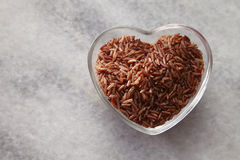 I love brown rice Stock Images