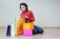 I love buy gifts Stock Photo