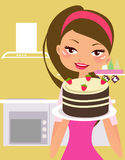 I love cake Royalty Free Stock Photography