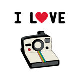 I love camera2 Stock Image