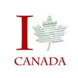 I love Canada Royalty Free Stock Photography