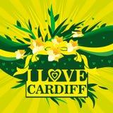 I Love Cardiff Royalty Free Stock Photos