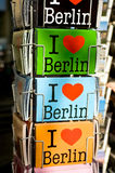 I Love cards. Of Berlin Stock Photography