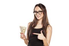 I love cash Royalty Free Stock Photos