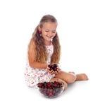 I love cherries Stock Photo