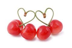 I love cherries Royalty Free Stock Photos