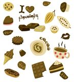 I love chocolate Royalty Free Stock Images