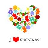 I love christmas Stock Photo