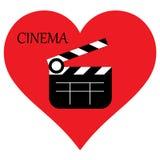 I love cinema. I love movies. vector illustration
