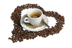I love coffe Stock Photography