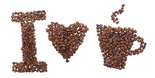 I love coffee Royalty Free Stock Images