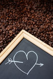 I Love Coffee Stock Photo