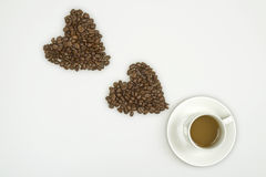 I Love Coffee Royalty Free Stock Photo