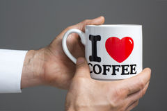 I love coffee Royalty Free Stock Photography