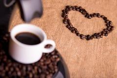 I love coffee Stock Photography
