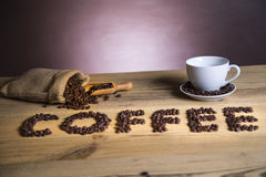 I love coffee! Royalty Free Stock Photos