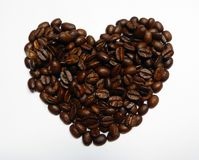 I Love Coffee Heart Stock Image