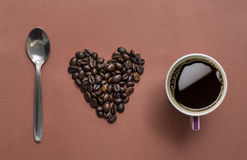 I love coffee Stock Photography