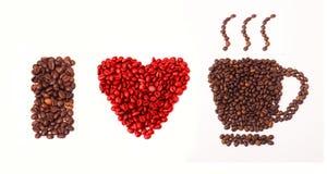 I love coffee Royalty Free Stock Image