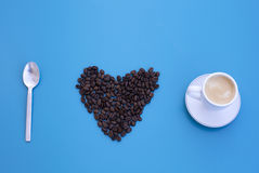 I love coffee Stock Images
