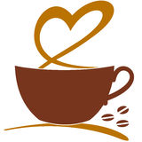 I love coffee - vector Royalty Free Stock Images