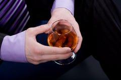 I love cognac Royalty Free Stock Photos