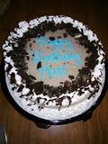 Cookies & cream ice cream cake stock photo
