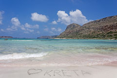 I love Crete stock images