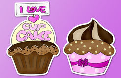 I love cupcake Stock Photo