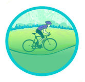 I love cycling banner Stock Images