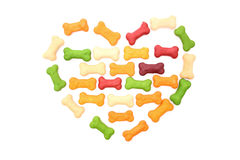 I love dog biscuits Royalty Free Stock Images