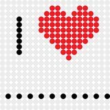I love dots Royalty Free Stock Photo