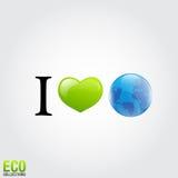 I love Earth Royalty Free Stock Image