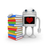 I love education!. Education concept. Separated on white Royalty Free Stock Photo