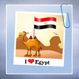 I love Egypt Stock Images
