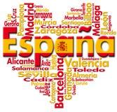 I Love España Stock Image