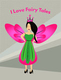 I Love Fairy Tales Royalty Free Stock Image