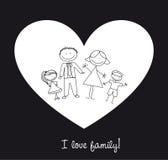 I love family stock illustration