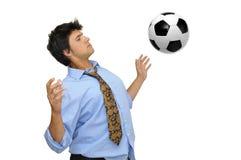 I love football Stock Image