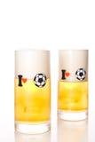 I love football (soccer) Royalty Free Stock Photography