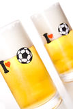 I love football (soccer) Stock Photography