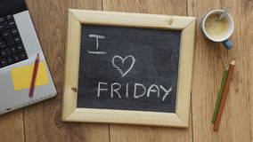 I Love Friday Royalty Free Stock Photo