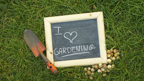 I love gardening Royalty Free Stock Photos