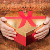 I love gifts! Stock Photo